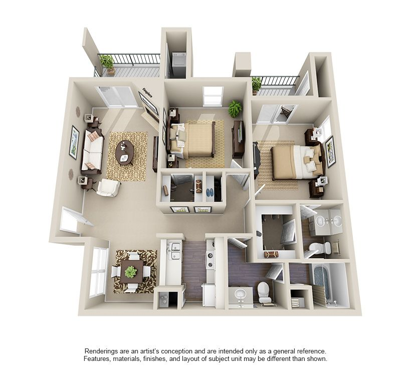 1 2 3 Bedroom Apartments In San Antonio Tx Floor Plans House Floor Plans Layout