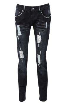 Decon Rhinestone Skinny Jean                                                                         front view