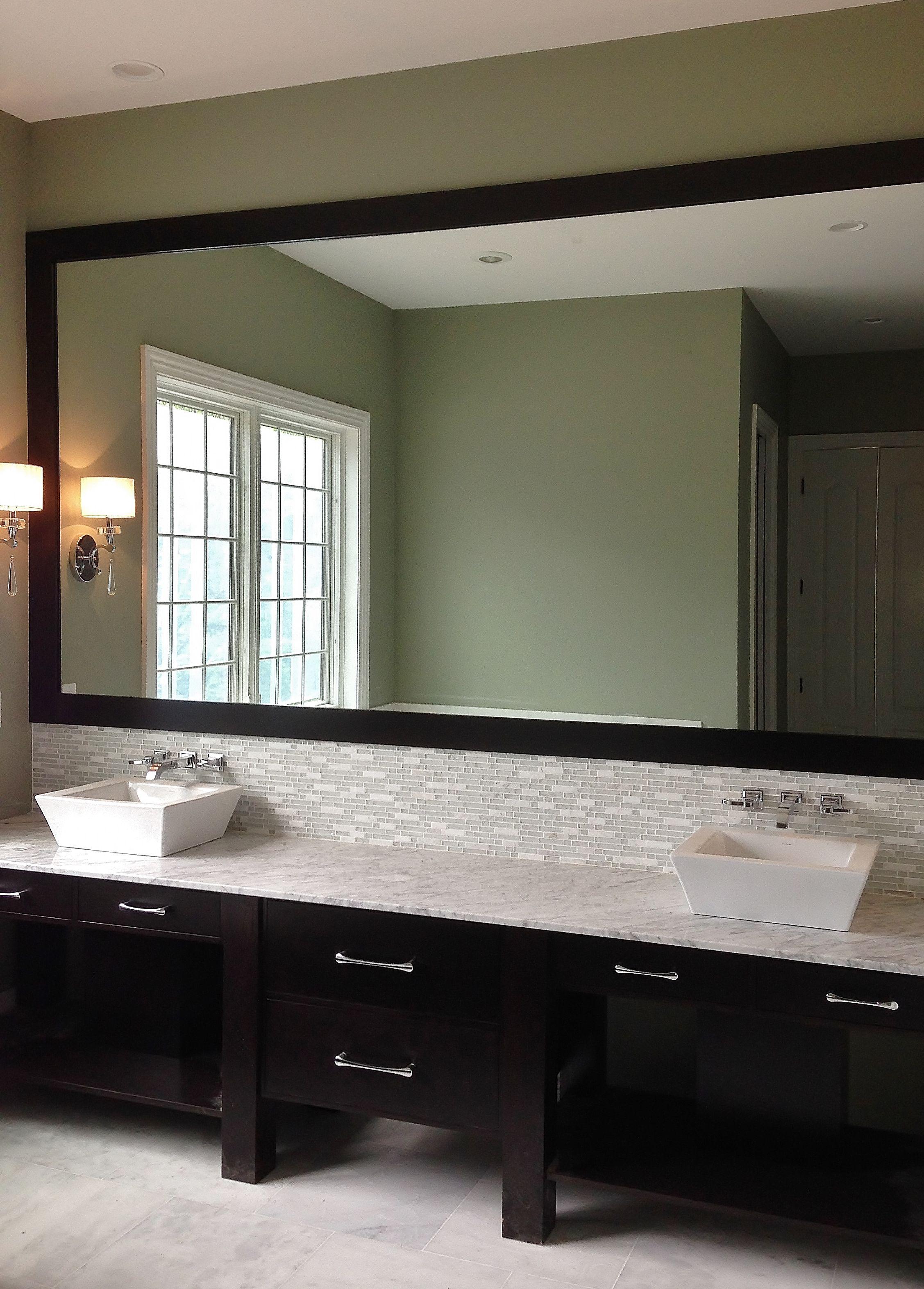 custom bathroom vanity mirror furnished and installed by on custom bathroom vanity mirrors id=19381
