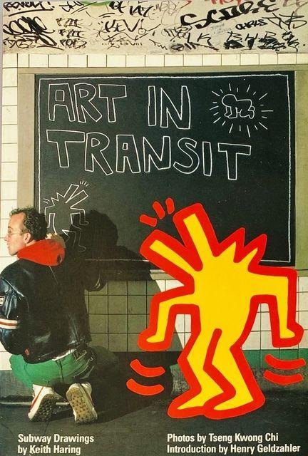 Keith Haring, Tseng Kwong Chi | Keith Haring Tseng Kwong Chi Art In Transit book 1984 (1984) | Available for Sale | Artsy