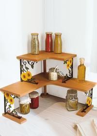 Mensola angolare Girasoli | Organizzazione domestica | Muebles de ...