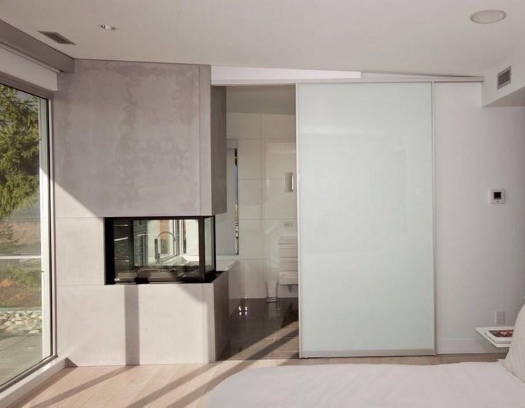 Schlafzimmer mit Ankleide und Badezimmer 50 Design