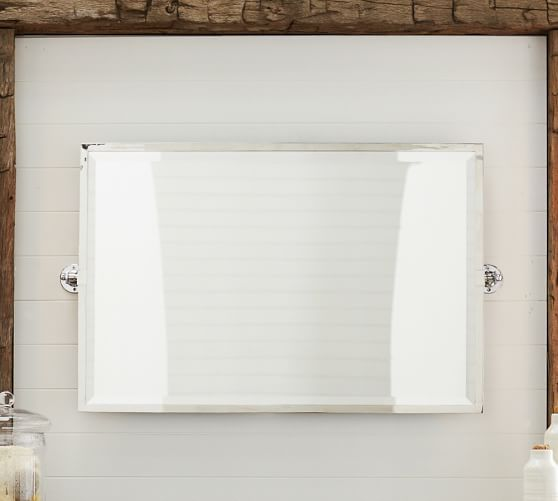 Kensington Double Wide Pivot Mirror Mirror Bathroom
