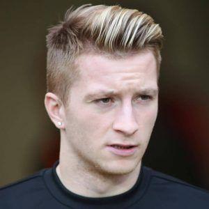 Fussballer Frisuren Marco Reus Trend Haare Marco Reus Haarschnitt Manner Side Sweep Haare