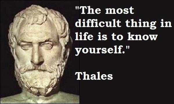 Greek Philosophers Quotes Inspiration Image Gallery For Greek Philosopher Thales Quotes In 48