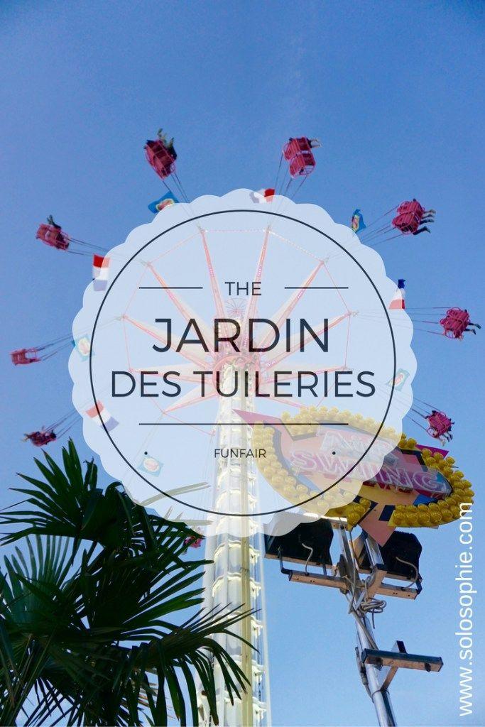 There S A Fairground In Jardin Des Tuileries Paris France France