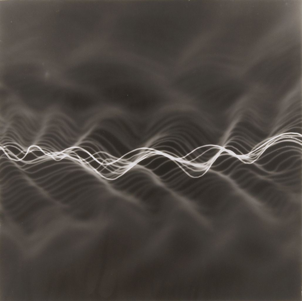 Maureen Mcquillan Untitled Photogram Wave Pinterest Abstract