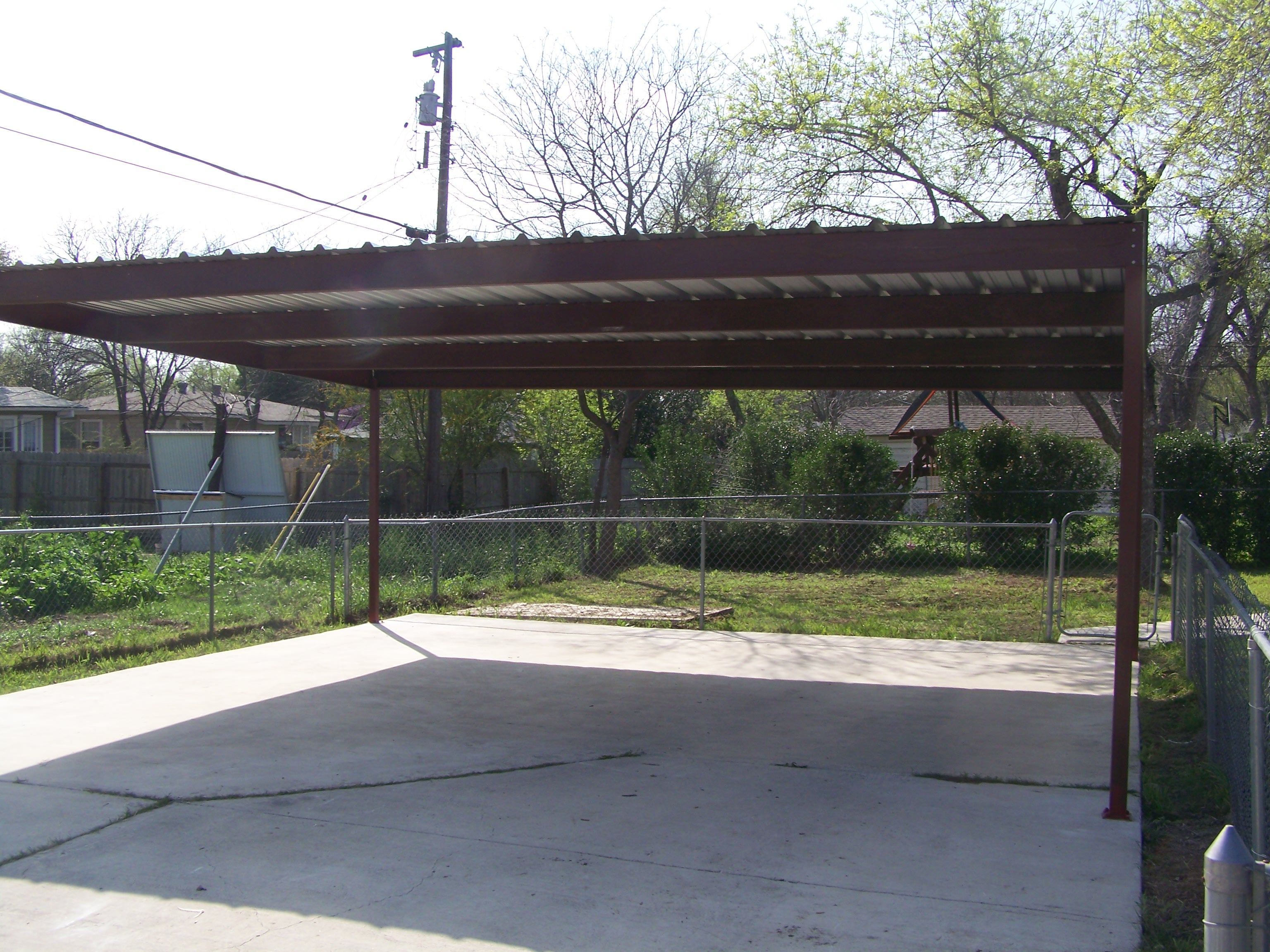 Metal Two Car Carport North Central San Antonio Metal