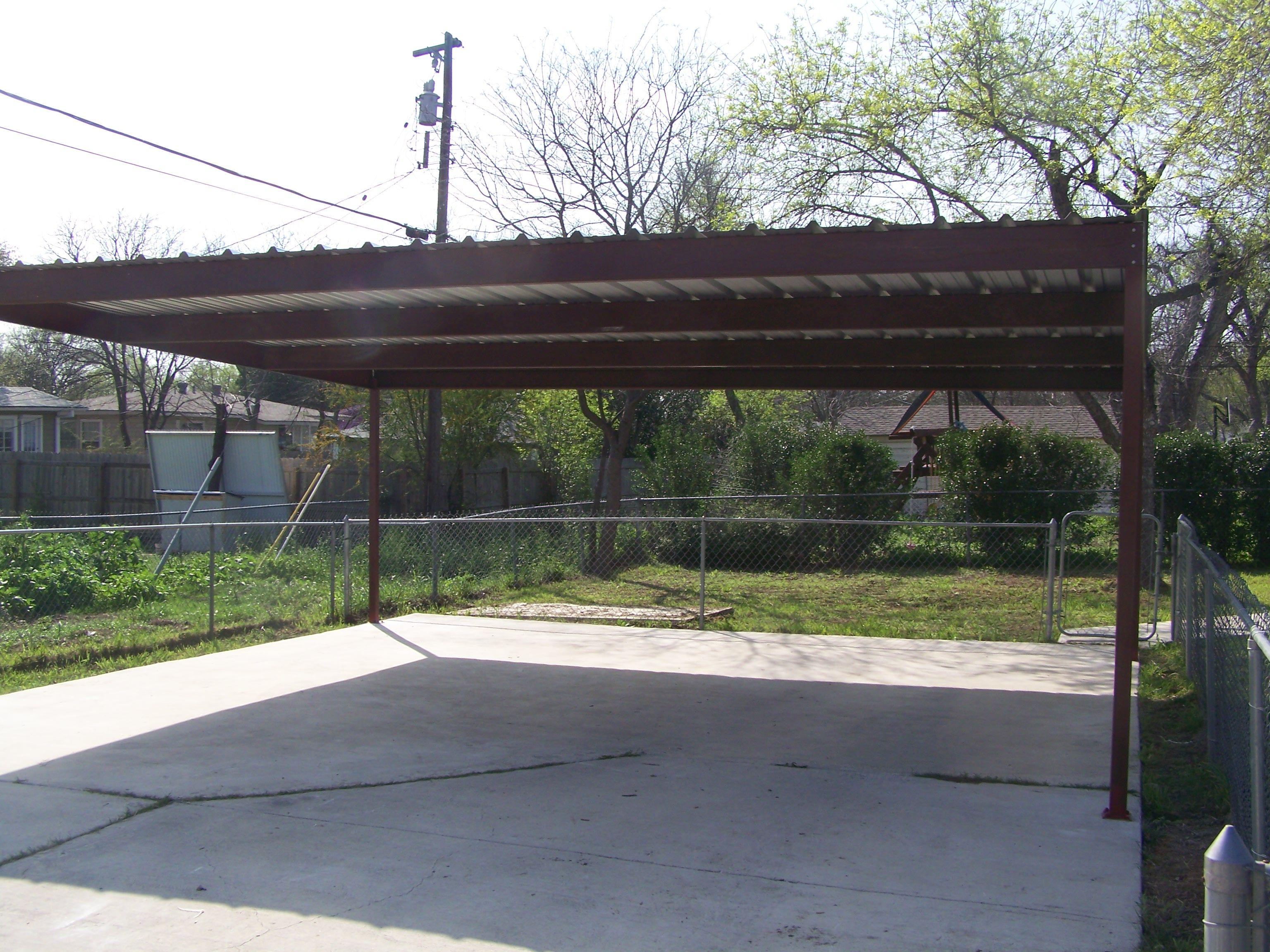 Metal Two Car Carport North Central San Antonio Metal