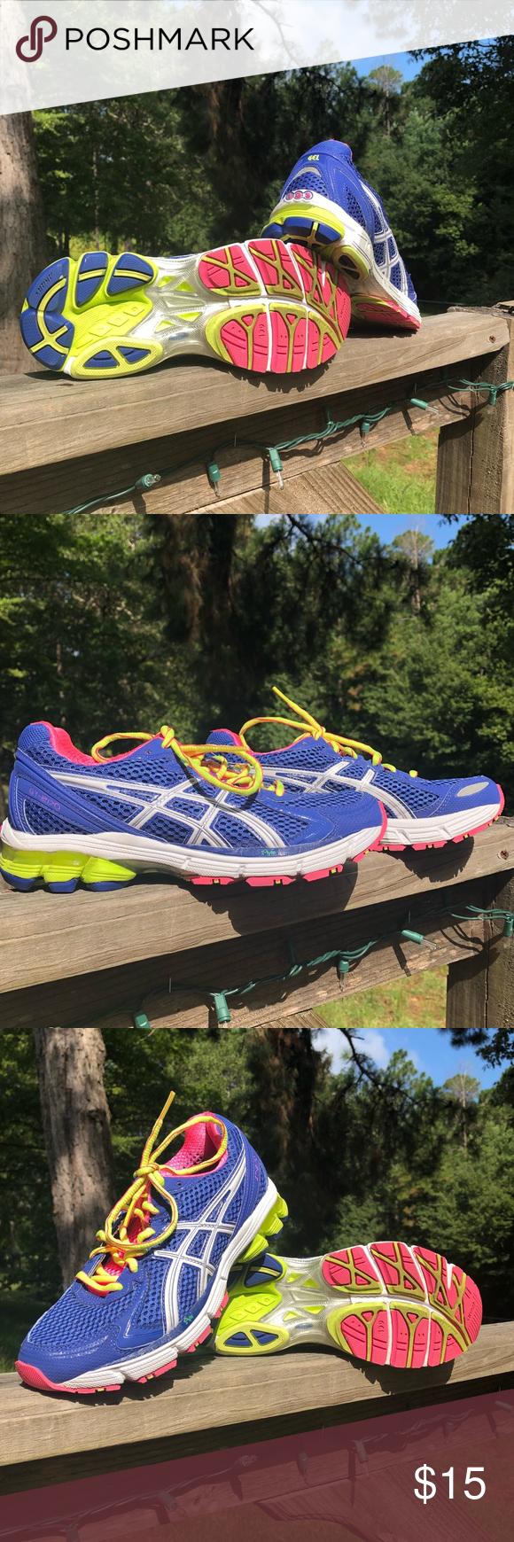 0eb2219ff33 ASICS Sneakers Purple/pink/yellow duomax gel asics size 6 good ...