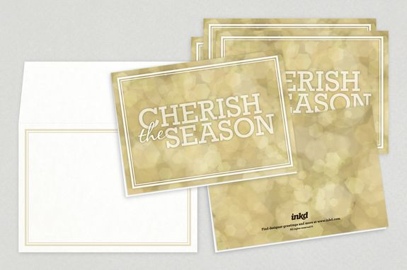 Universal Wishes Holiday Greeting Card Template - This stunning - greeting card template