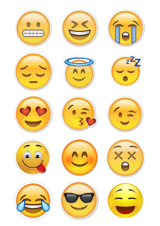 Refreshing image intended for printable emojis pdf