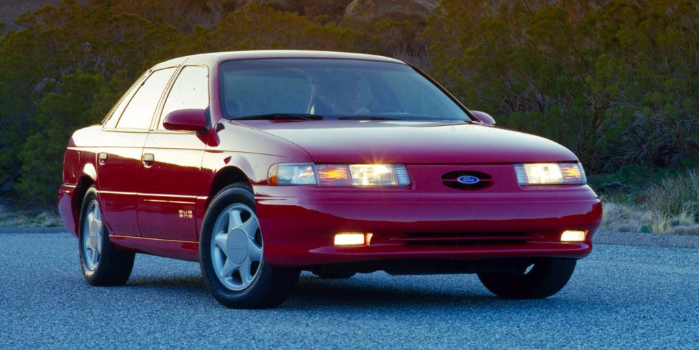 You Probably Forgot All About These Great Performing 90s Cars Performance Cars Ford Taurus Sho Super Cars