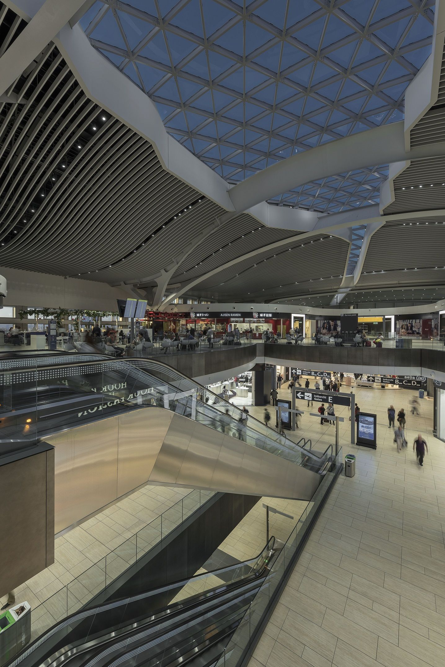 Leonardo Da Vinci Airport Terminal - Fiumicino Rome