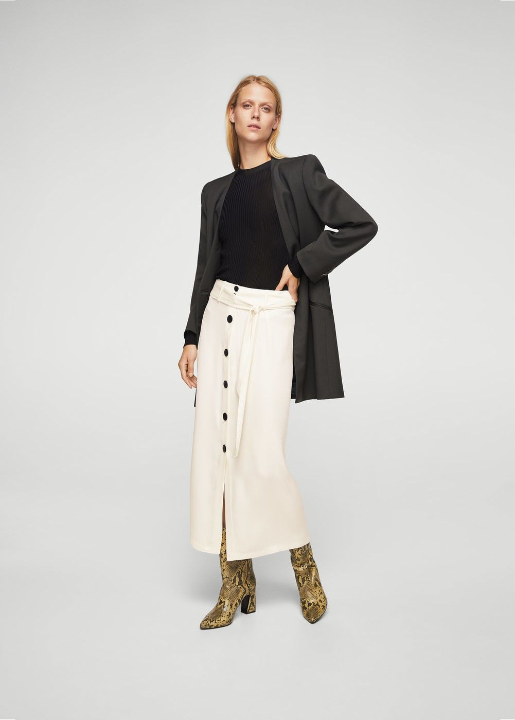 Cupro Skirt - COULEURS DAUTOMNE by VIDA VIDA Finishline Online Free Shipping For Sale D5hIux
