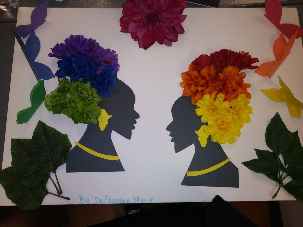 My First Project For Cosmetology Class A Color Wheel I