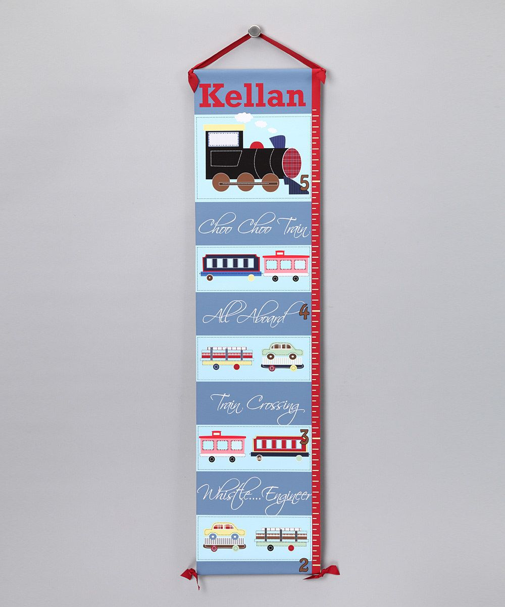 For will for my grandbabies pinterest growth charts look what i found on train personalized growth chart by bronstar originals nvjuhfo Choice Image