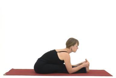 How To Do Paschimottanasana A Yoga Hamstring Stretch Seated Yoga Poses Essential Yoga Poses Yoga Poses For Beginners