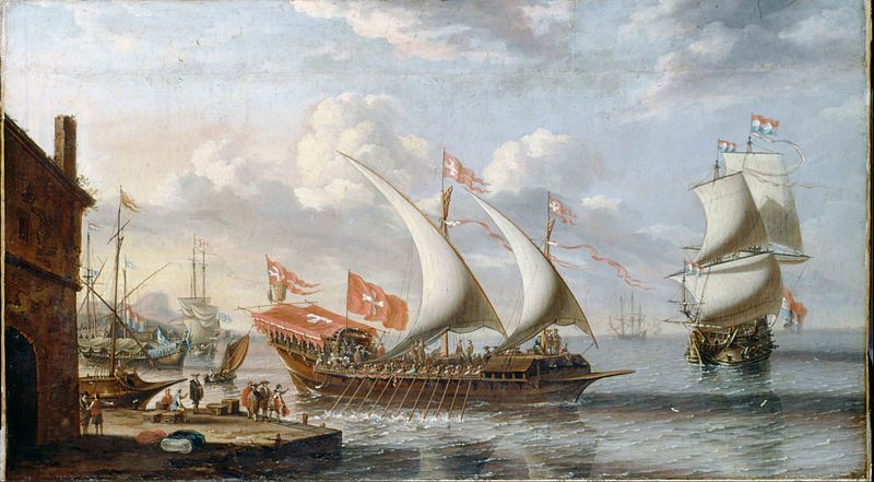 """A Galley of Malta"" - Lorenza A. Castro (ca. 1680)"