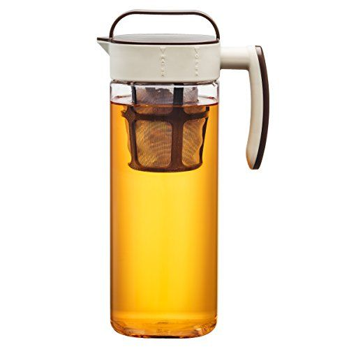 Making Delicious Hot And Cold Beverages With The Big 1 Gallon Iced Tea Cold Coffee Brewer Iced Tea Pitcher Cold Coffee