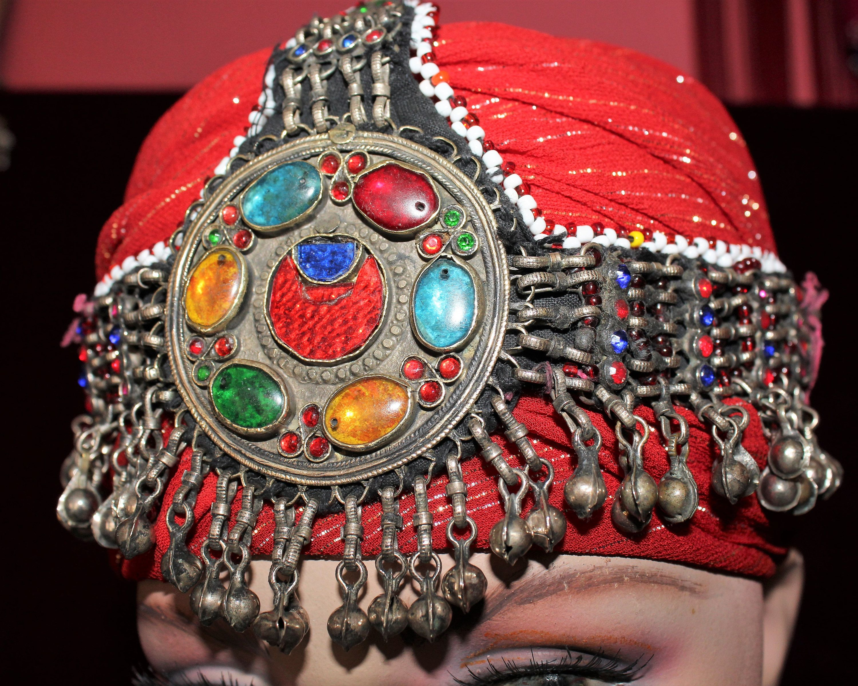 vintage Nomadenschmuck Tribalschmuck Tribal Kuchi Ohrringe Tribal Fusion