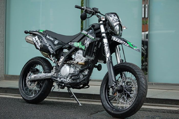 Kawasaki D Tracker Wallpaper Ponsel