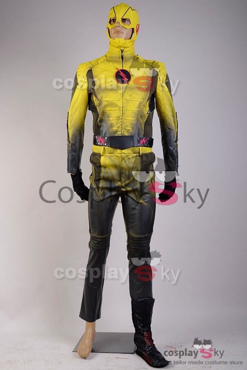 Flash TV The Reverse-Flash Professor Zoom Eobard Thawne Cosplay Costume,  made in your own measurements. Be the next Reverse-Flash by wearing this  costume.