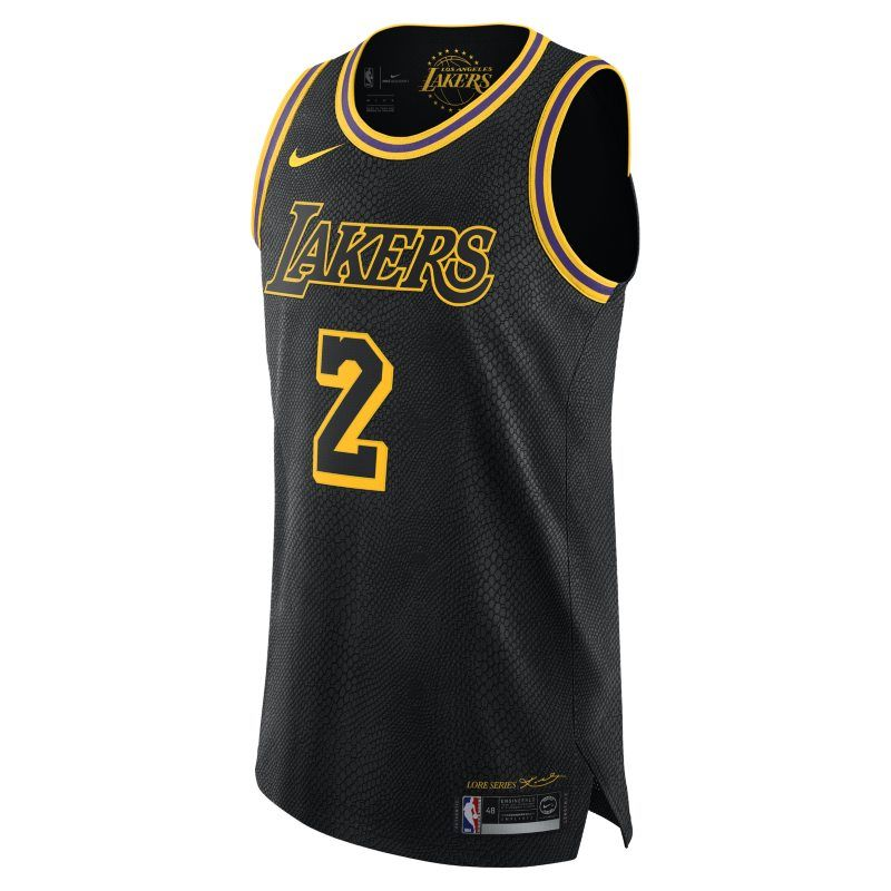 half off 75c55 d01e7 Lonzo Ball City Edition Authentic Jersey (Los Angeles Lakers ...