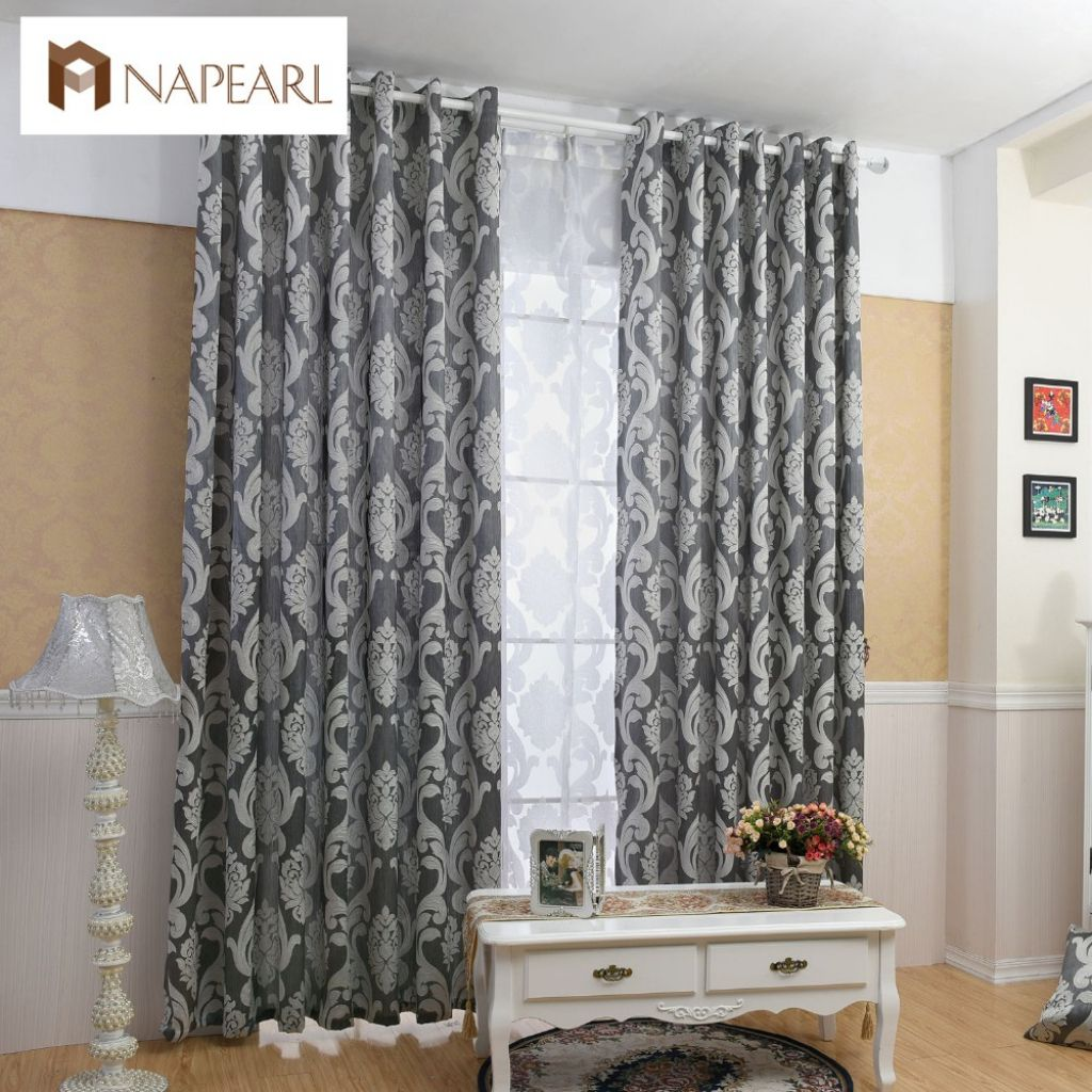 Nice black and white curtains for living room regarding home check