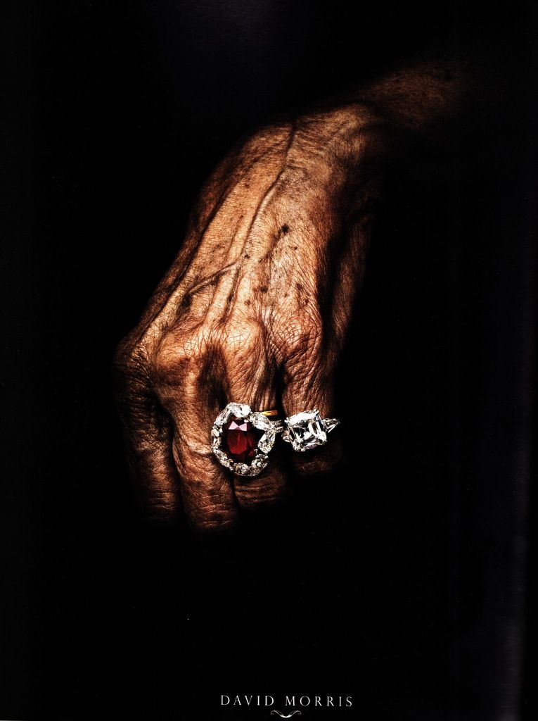 A picture that speaks... Jewelry is forever!