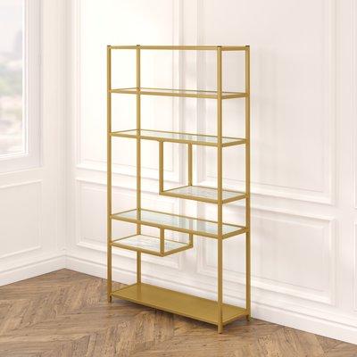 Foundstone Kit Geometric Bookcase In 2020 Etagere Bookcase