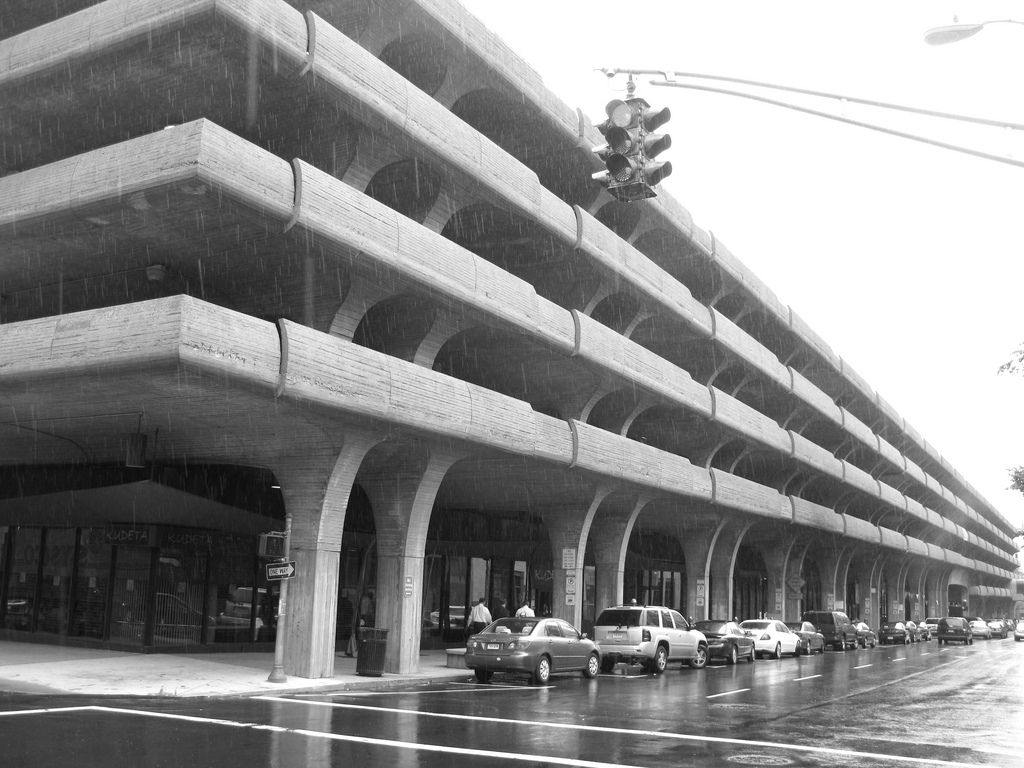Temple Street Parking Garage  New Haven, Connecticut. United States. 1959-1963  Architect: Paul Rudolph