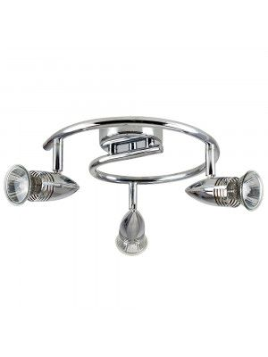 Kitchens · bullet head styled round spotlight in chrome plated finish chrome valuelights