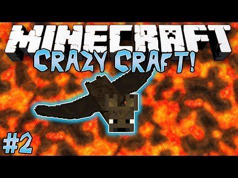 Bat Transformation Crazy Craft Minecraft Modded Survival 2 Crafts Survival Inspector Gadget