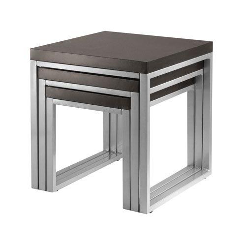 Best 139 20 Sq Jared Black Nesting Tables Set Of Three 400 x 300