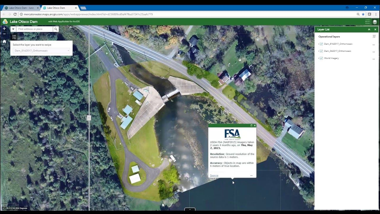Drone2Map for ArcGIS: 2D Imagery Products | Geospatial / GIS