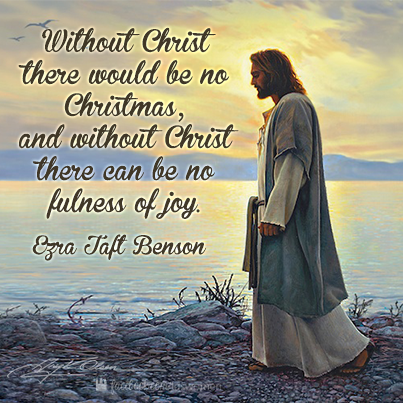 Remember the reason for the season. #lds #quote #christmas | LDS ...