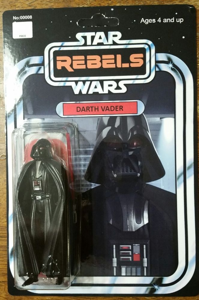 """STAR WARS NEW 2019 THE RETRO COLLECTION 3.75/"""" SITH LORD DARTH VADER MOC FIGURE"""