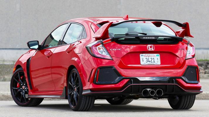 Spoiler Honda Civic 2016 Type R now available Honda
