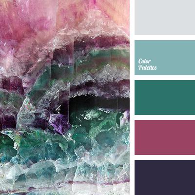Cherry Color Matching Of Emerald Palette Design Scheme Gray Light Green Pink