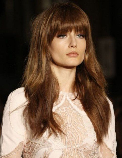 10 Stylish Long Hairstyles With Bangs 2016 Styles 2016 Hair Styles Long Hair Styles Hair