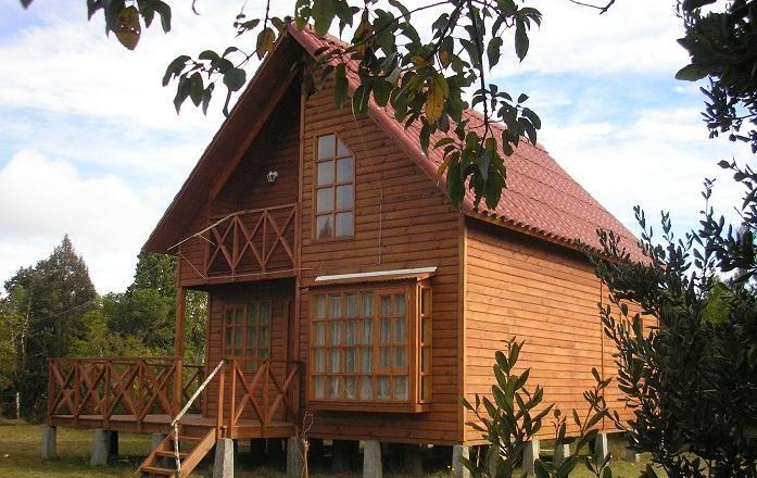 fachada plano de casa madera pisos