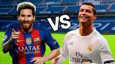 Messi Vs Cristiano Ronaldo épicas Batallas De Rap Del Fútbol Voetbal