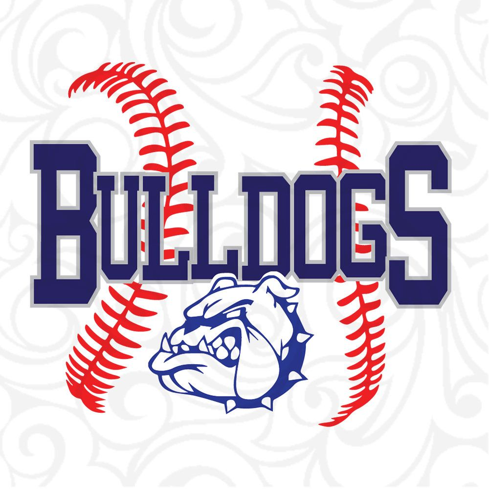 Bulldogsbulldogs Svgbulldogs Logobulldogs Mascotbulldogs Etsy Baseball Svg Softball Svg Baseball Tshirt Design