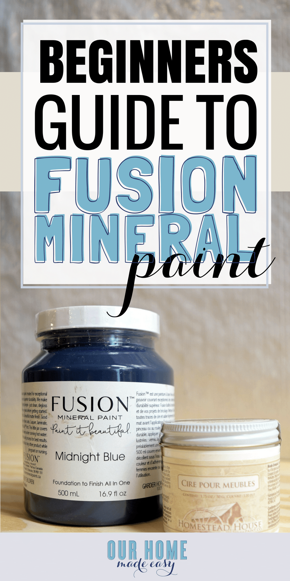 Fusion Mineral Paint Is it Worth Your Money and Time