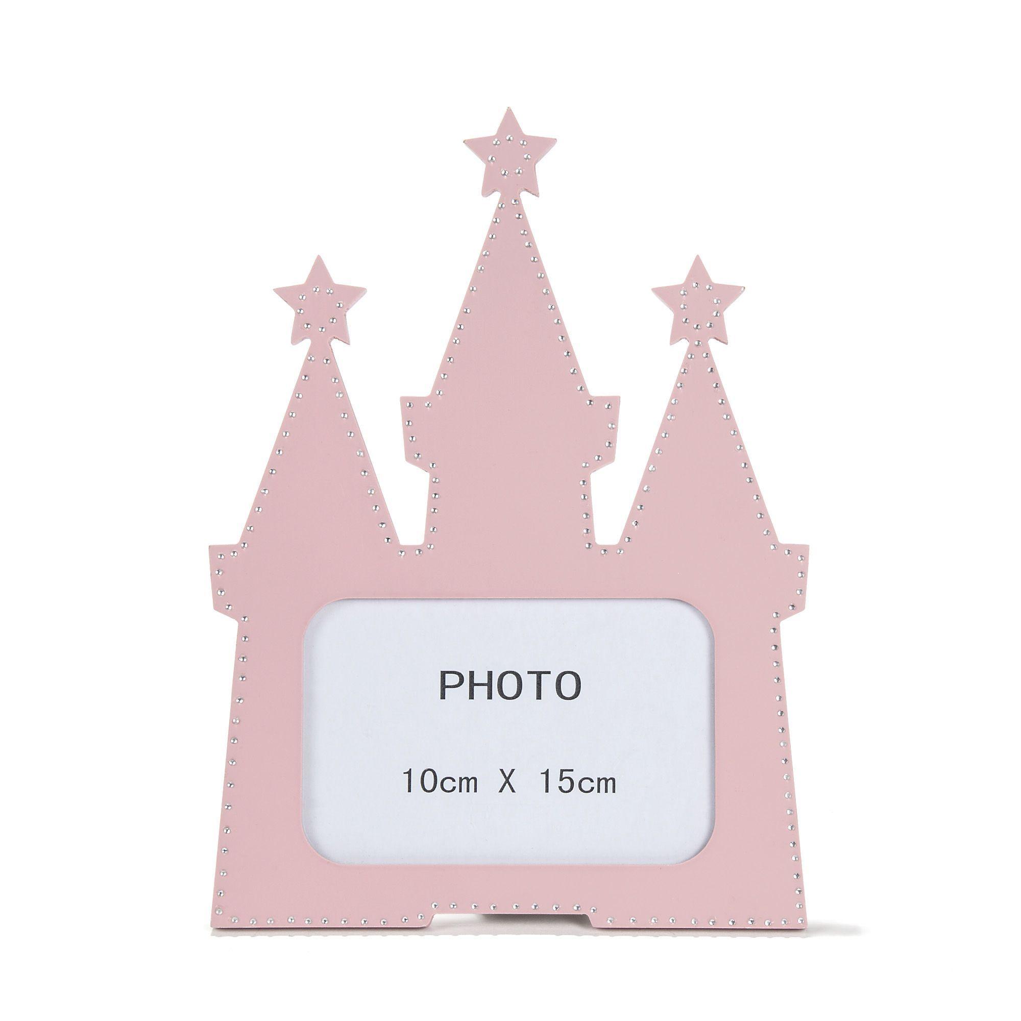 Cadre Photo 15x23cm En Forme De Chateau Rose Princesse Les Objets De Deco Enfants Decoration Pour Enfant Toute La Cadre Photo Deco Enfant Meuble Deco