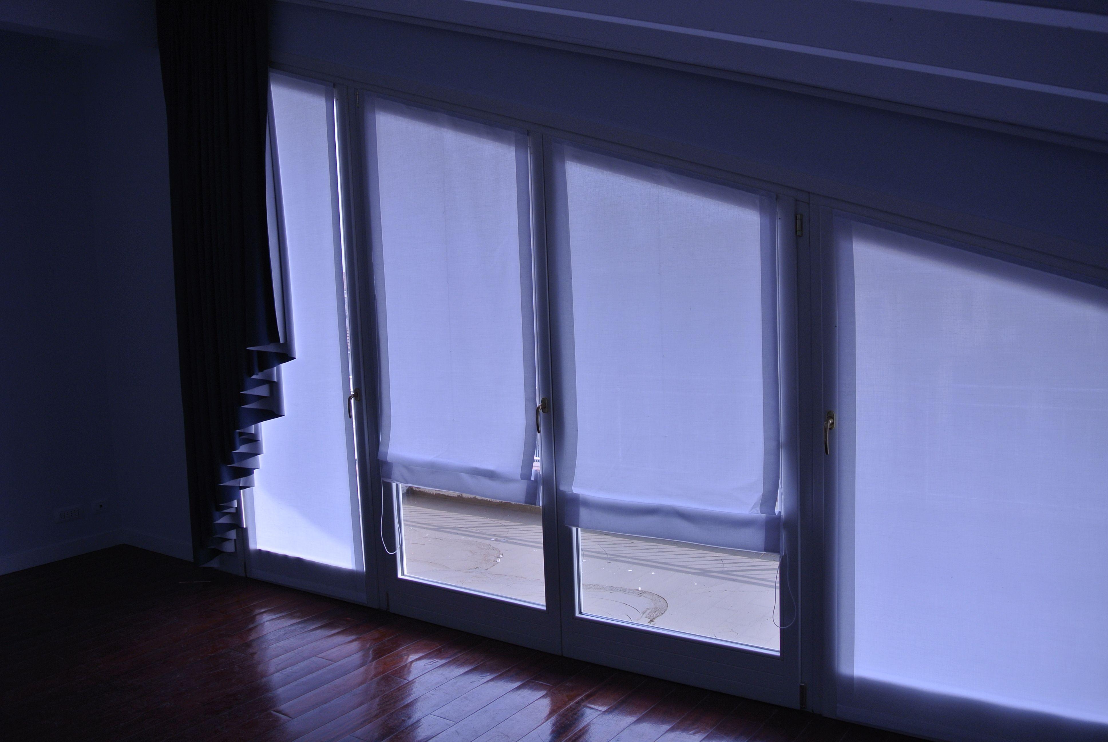 Tende Per Soffitti Inclinati tenda oscurante a soffitto con pendenza mansarda | tende