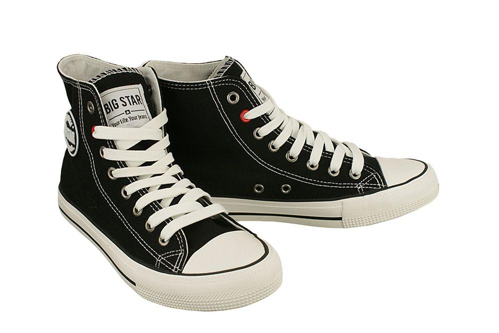 Big Star T174107 Czarny Trampki Meskie Buty Meskie Tenisowki I Trampki T Converse Chuck Taylor High Top Sneaker Chucks Converse Converse High Top Sneaker