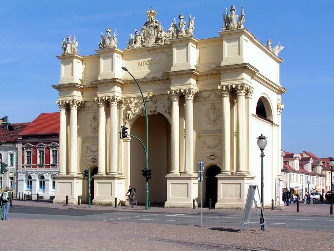 Potsdam Potsdam Neues Palais Brandenburger Tor