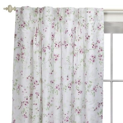 target : simply shabby chic® cherry blossom window panel | girl